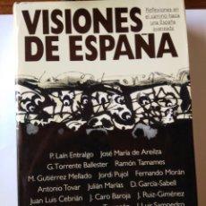Libros: VISIONES DE ESPAÑA. Lote 206569168