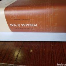 Libros: POEMAS A NAI. Lote 206572996
