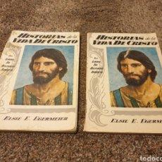 Libros: LIBROS HISTORIA DE LA VIDA DE CRISTO. Lote 206591178