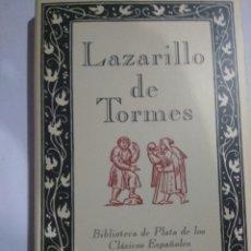 Libros: LAZARILLO DE TORMES. Lote 206591678