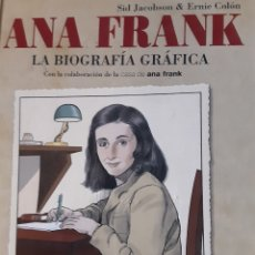 Libros: LIBRO BIOGRAFIA GRÁFICA ANA FRANK. Lote 207197496