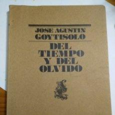 Libros: DEL TIEMPO Y DEL OLVIDO. Lote 207246608
