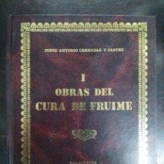 Libros: OBRAS DEL CURA DE FRUIME. Lote 208232558
