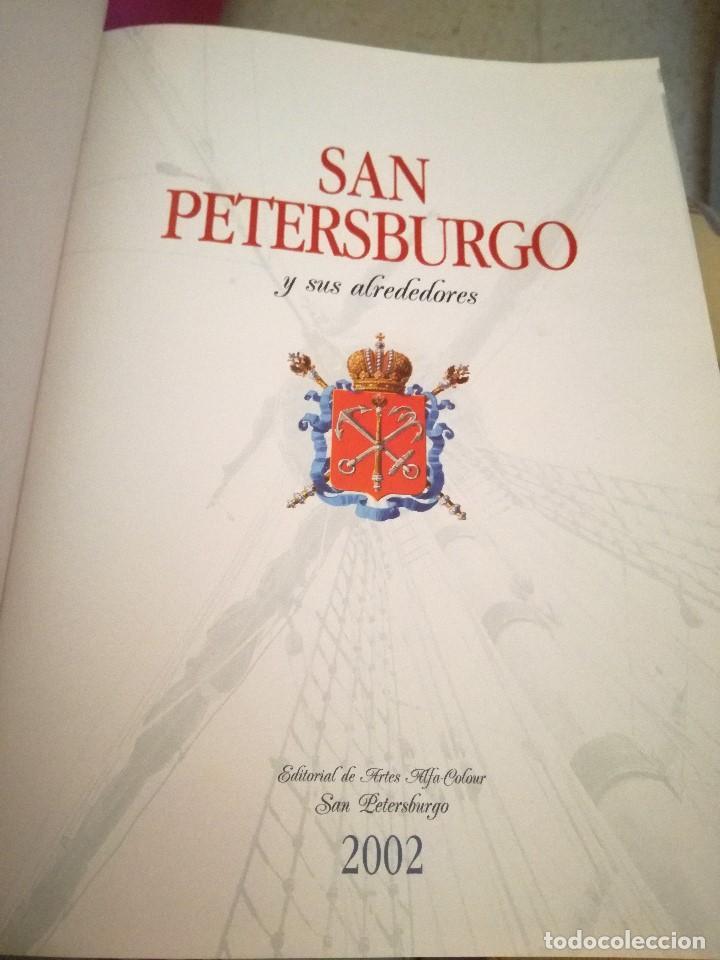 Libros: SAN PETERSBURGO y SUS ALREDEDORES de M. ALBEDIL - Foto 2 - 209151905
