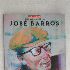 Libros: HOMENAJE A JOSE BARROS LIBRO DE BOLSILLO + CD NUEVO. Lote 209236178