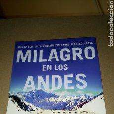 Libros: LIBRO MILAGRO EN LOS ANDES. NANDO PARRADO. EDITORIAL PLANETA. AÑO 2006.. Lote 209906742