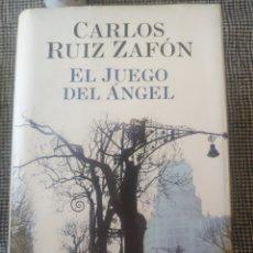 Libros: EL JUEGO DEL ÁNGEL CARLOS RUIZ ZAFON. Lote 210206252