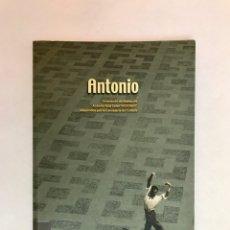 """Libros: ANTONIO """"EL BAILARÍN"""". ANTONIO RUIZ SOLER. FLAMENCO. BAILAOR.. Lote 210330130"""