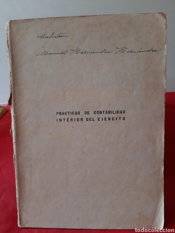 Libros: Libro prácticas de contabilidad de los cuerpos - Foto 2 - 210450037
