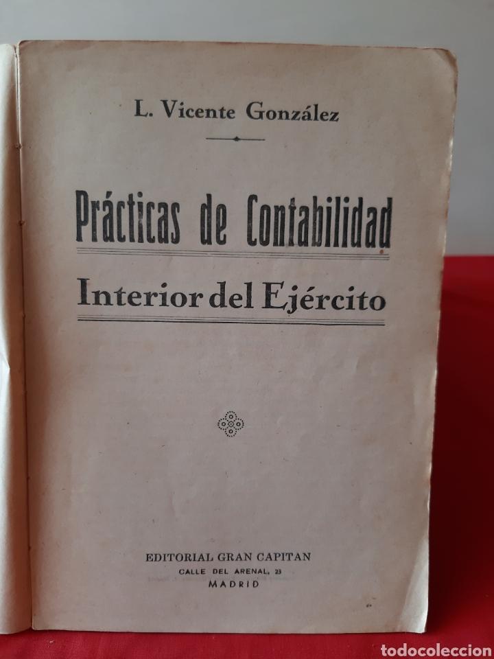 Libros: Libro prácticas de contabilidad de los cuerpos - Foto 3 - 210450037