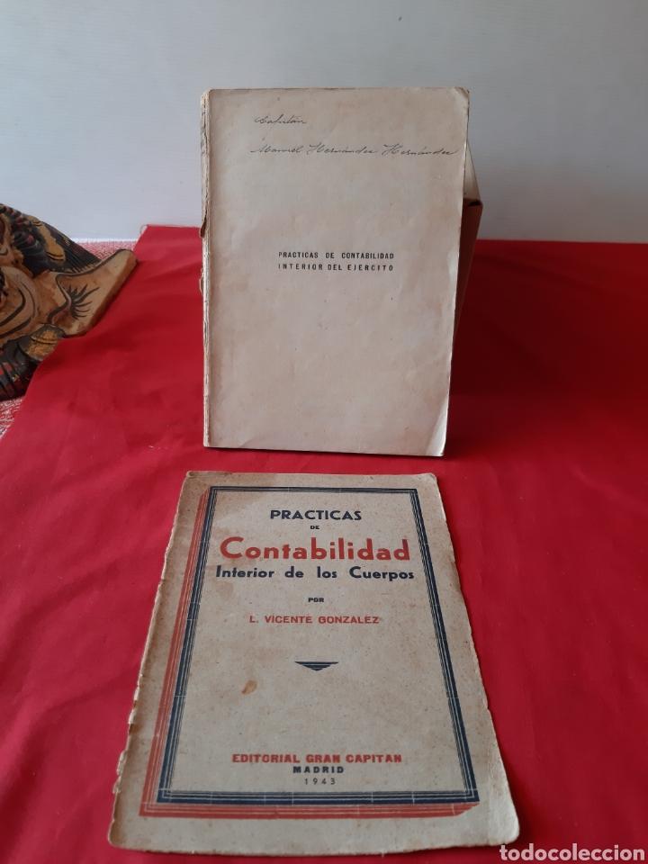Libros: Libro prácticas de contabilidad de los cuerpos - Foto 4 - 210450037