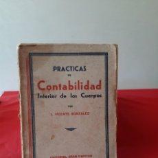 Libros: LIBRO PRÁCTICAS DE CONTABILIDAD DE LOS CUERPOS. Lote 210450037