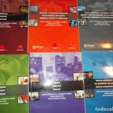 Libros: LOTE DE 6 LIBROS (CATALOGOS) CON DISCOS CDR DE LA CÁMARA DE MADRID. Lote 211409816