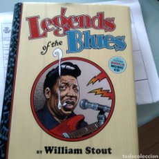 Libros: VARIOUS – LEGENDS OF THE BLUES - SATURDAY NIGHT AND SUNDAY MORNING (LIBRO + CD). Lote 211775168