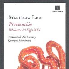Libros: PROVOCACION , STANISLAW LEM. Lote 212009415