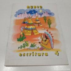 Libros: LIBRO CUADERNILLO RUBIO , ESCRITURA 4. Lote 212476402