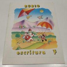 Libros: LIBRO CUADERNILLO RUBIO , ESCRITURA 7. Lote 212476676