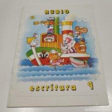 Libros: LIBRO CUADERNILLO RUBIO , ESCRITURA 9. Lote 212476812