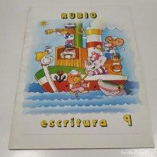 Libros: LIBRO CUADERNILLO RUBIO , ESCRITURA 9. Lote 212476836