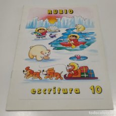 Libros: LIBRO CUADERNILLO RUBIO , ESCRITURA 10. Lote 212476868