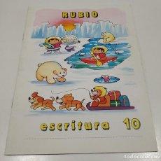Libros: LIBRO CUADERNILLO RUBIO , ESCRITURA 10. Lote 212476873