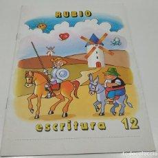 Libros: LIBRO CUADERNILLO RUBIO , ESCRITURA 12. Lote 212476946