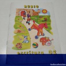 Libros: LIBRO CUADERNILLO RUBIO , ESCRITURA 02. Lote 212476961