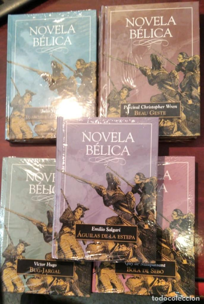 LOTE 5 LIBROS NOVELA BELICA (Libros nuevos sin clasificar)