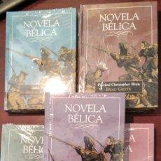 Libros: LOTE 5 LIBROS NOVELA BELICA. Lote 212732596