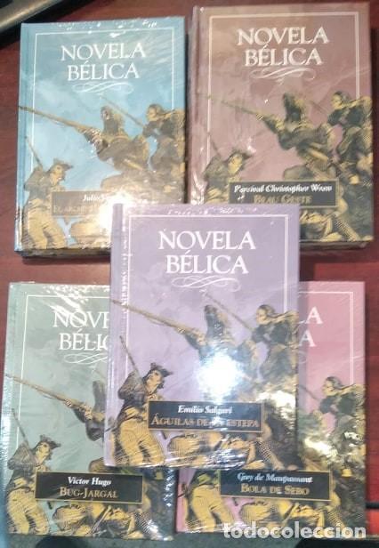 Libros: LOTE 5 LIBROS NOVELA BELICA - Foto 2 - 212732596