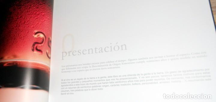 Libros: BONITO PRECIOSO LIBRO LUJOSO EDITADO 2009 25 ANIVERSARIO DENOMINACIÓN ORIGEN SOMONTANO VINO HUESCA - Foto 3 - 213283162