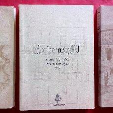 Libros: SOBEROSUM. REVISTA ESTUDIOS MUSEO MUNICIPAL. AYUNTAMIENTO PONTEAREAS. VOLÚMENES 1, 2 Y 3 (AÑO 1992). Lote 213598222