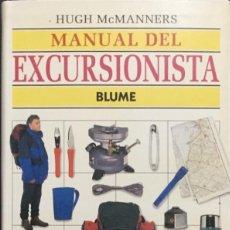 Libros: MANUAL DEL EXCURSIONISTA. BLUME. NUEVO. Lote 213866222