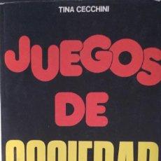 Libros: JUEGOS DE SOCIEDAD. DE VECCHI. NUEVO. Lote 213900863