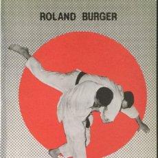 Libros: JUDO. ROLAND BURGUER. NUEVO. Lote 213901106