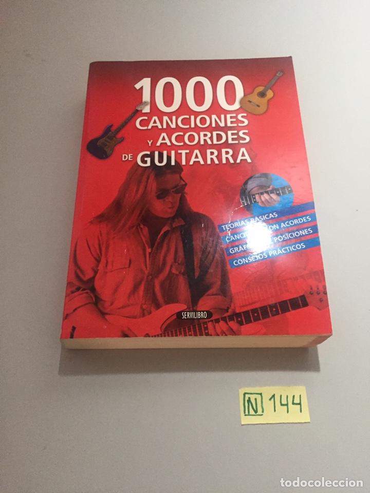 100 CANCIONES Y ACORDES DE GUITARRA (Libros nuevos sin clasificar)
