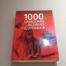 Libros: 100 CANCIONES Y ACORDES DE GUITARRA. Lote 214144990