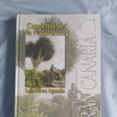 Libros: LIBRO CAPRICHOS DE LA NATURALEZA. Lote 214219958