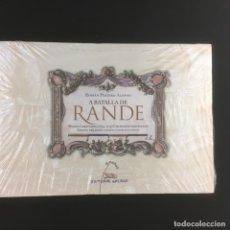 Libros: A BATALLA DE RANDE-MAPAS E GRAVADOS (1699-1715)-ROMAN PEREIRO ALONSO-GALAXIA. Lote 214294881