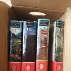 Libros: GEOGRAFÍA DE CATALUÑA. Lote 214427892