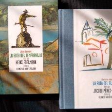 Libros: LIBROS DE VIAJES. LA RUTA DEL TEMPRANILLO Y DEL FLAMENCO. HEINZ EDELMANN JACOBO PÉREZ-ENCISO 2 VOLS.. Lote 214448881