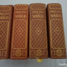 Libros: 2A/ 4 TOMOS - NOVELAS - EMILIO ZOLA - EDITORIAL LORENZANA 1ª EDICION 1967. Lote 214883537