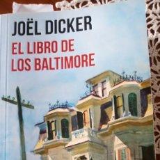 Libros: EL LIBRO DE LOS BALTIMORE. Lote 215063811