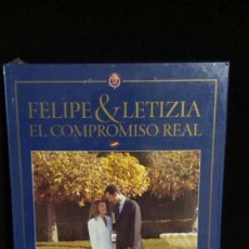 Libros: LIBRO DE FELIPE Y LETIZIA - EL COMPROMISO REAL - PRECINTADO. Lote 215443657