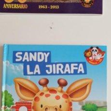 Libros: G-33 MIS AZIMALES DEL ZOO SANDY LA JIRAFA. Lote 215655875