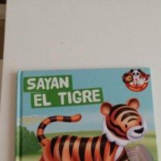 Libros: G-33 MIS AZIMALES DEL ZOO SAYAN EL TIGRE. Lote 215655972