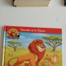 Libros: G-33 LIBRO ANIMALES DE LA SABANA EL LEON. Lote 215658028