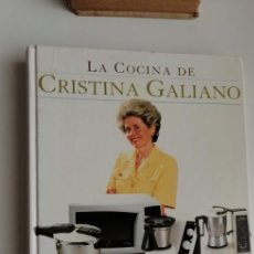 Libros: G-33 LIBRO LA COCINA DE CRISTINA GALIANO. Lote 215658540