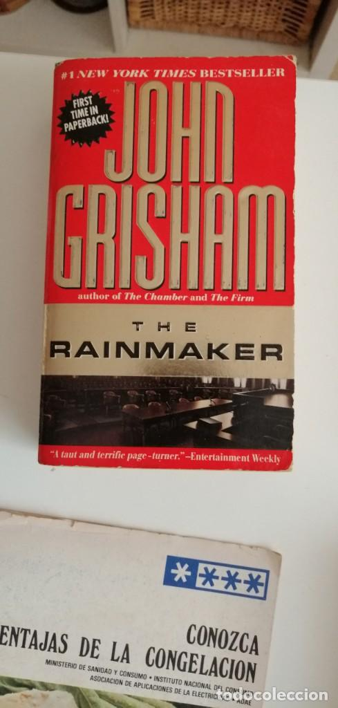 G-33 LIBRO JOHN GRISHAM THE RAINMAKER (Libros nuevos sin clasificar)