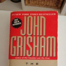 Libros: G-33 LIBRO JOHN GRISHAM THE RAINMAKER. Lote 215659437